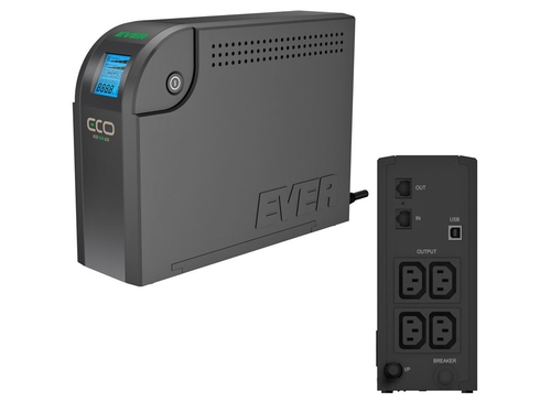 UPS EVER ECO 500 LCD - T/ELCDTO-000K50/00