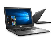 "Laptop Dell 5567-8376 5567-8376 Core i5-7200U 15,6"" 8GB SSD 256GB Radeon R7 M445 Win10"