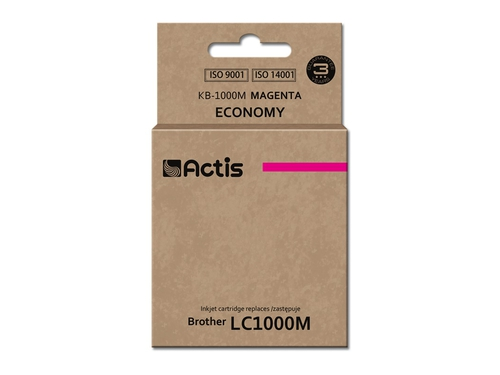 ACS tusz Brother LC1000/LC970 Magenta KB-1000M