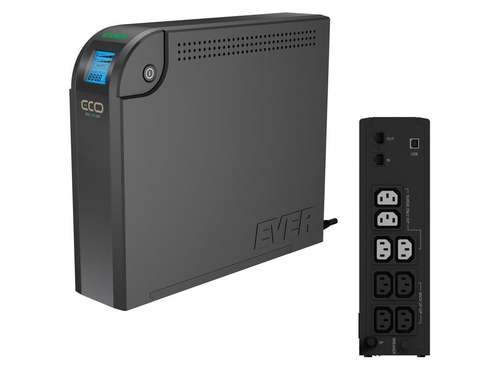 UPS EVER ECO 800 LCD - T/ELCDTO-000K80/00
