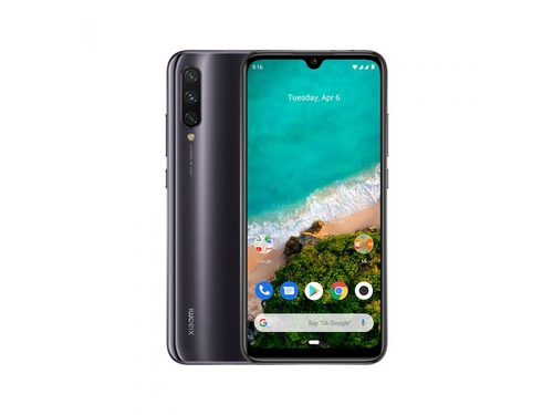 Smartfon XIAOMI MI A3 128GB Gray Bluetooth WiFi GPS DualSIM 128GB Android One kolor szary Gray