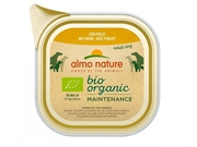 ALMO NATURE Daily Menu BIO Dog Kurczak - szalka 100g