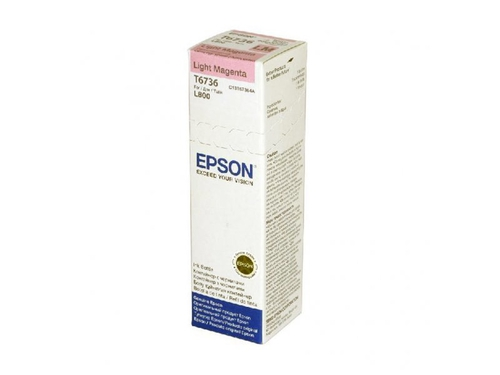 Tusz Epson | 70 ml | L800 Light Magenta - C13T67364A
