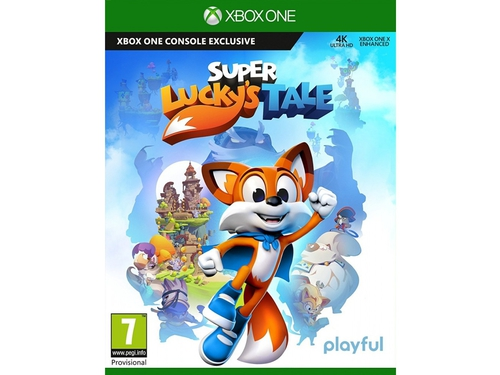 """Gra Xbox One Super Lucky""""s Tale"""