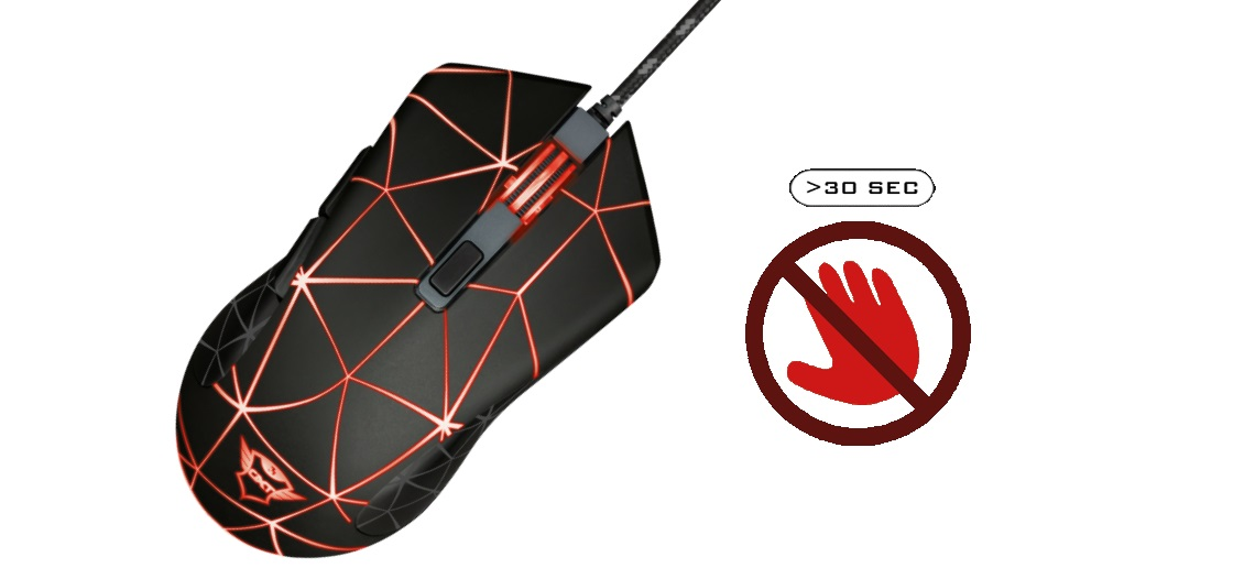 MYSZ TRUST GXT 133 Locx Gaming Mouse2