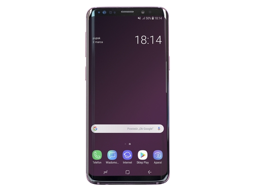 Smartfon Samsung Galaxy S9+ GPS NFC Bluetooth LTE WiFi DualSIM 64GB Android 9.0 kolor fioletowy Lilac Purple