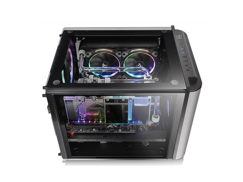 Obudowa Thermaltake LEVEL 20 VT Tempered Glass-Blac - CA-1L2-00S1WN-00