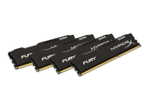 KINGSTON HyperX FURY DDR4 4x8GB HX429C17FB2K4/32
