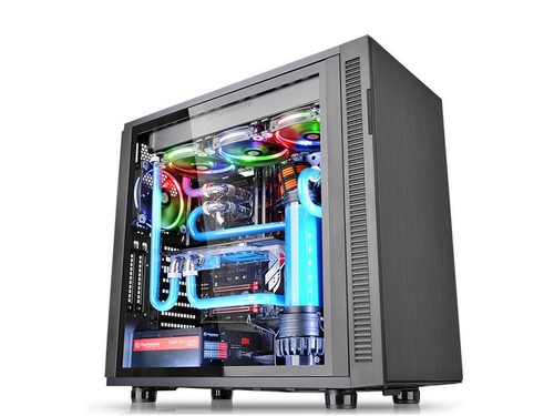 Obudowa Thermaltake Suppressor F31 USB3.0 Tempered Glass - Black - CA-1E3-00M1WN-03