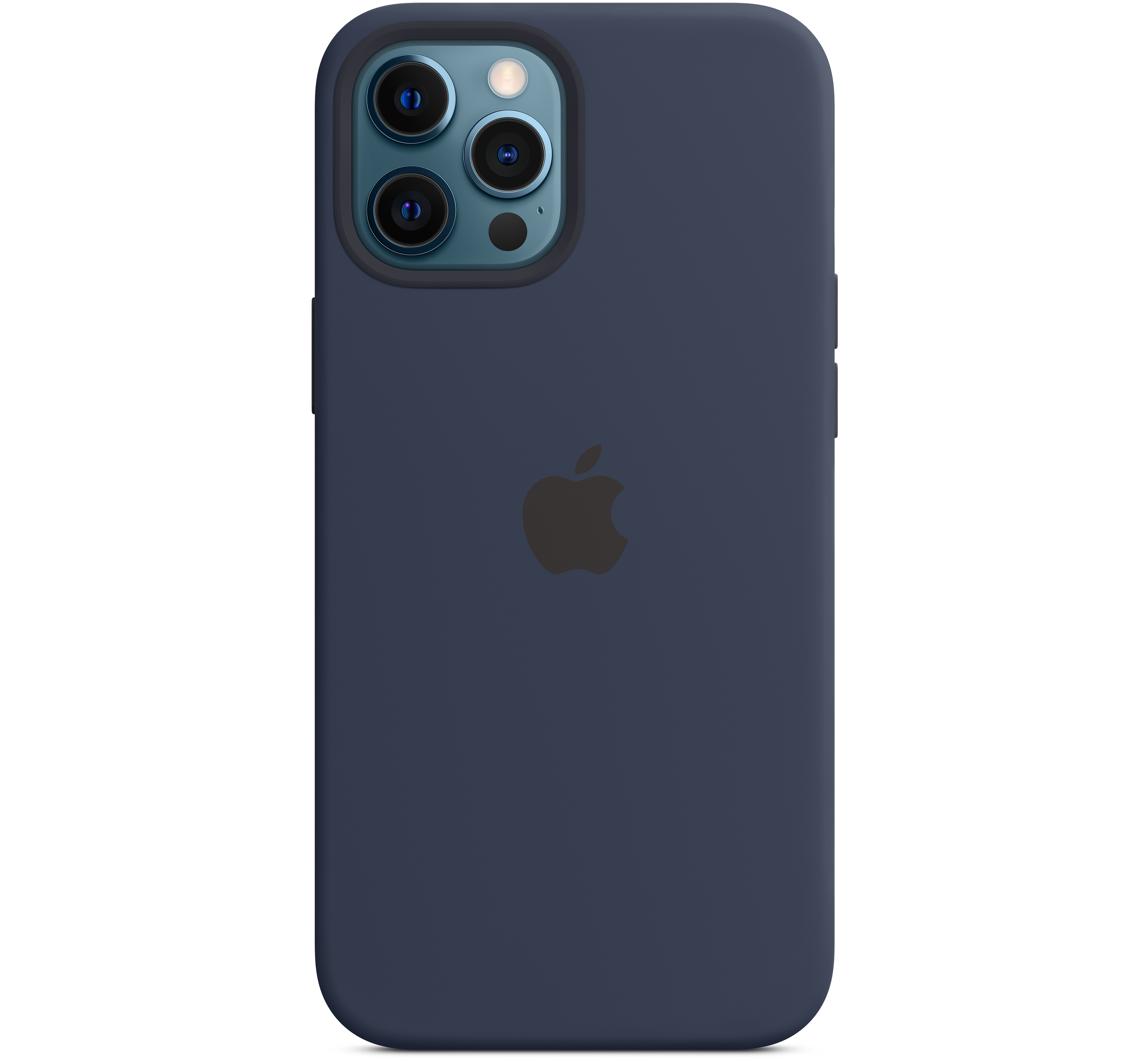 #Apple iPhone 12 Pro Max Silicone Case with MagSafe - Deep Navy