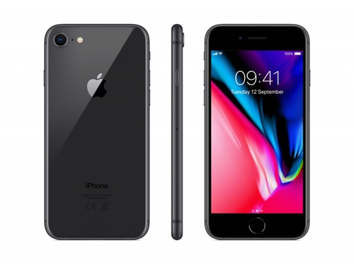 Smartfon Apple iPhone 8 64GB Space Grey Bluetooth LTE WiFi GPS 64GB iOS 11 kolor szary