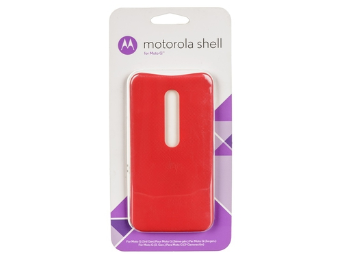 Etui Castillo Color Shell do LENOVO MOTO G 3gen Cherry - ASMCALCLRCHRY-M