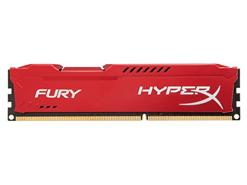 Pamięć RAM Kingston HyperX FURY DDR3 1600 MHz 8GB CL10 Czerwony - HX316C10FR/8
