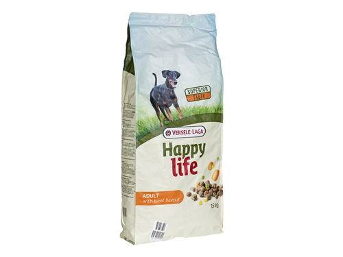 Versele Laga Happy Life Adult Beef 15kg