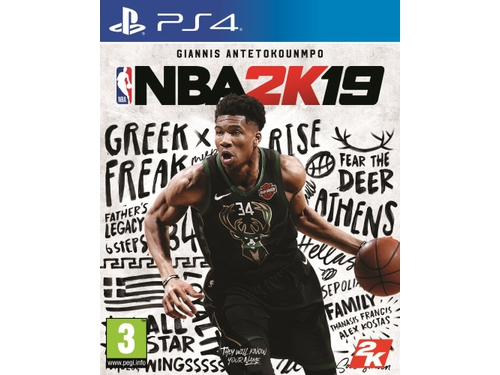 Gra PS4 2K Games wersja BOX NBA 2K19