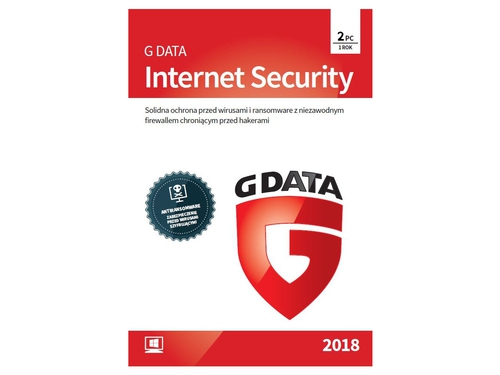 G Data Internet Security BOX 2PC 1 ROK 2018 - 090165