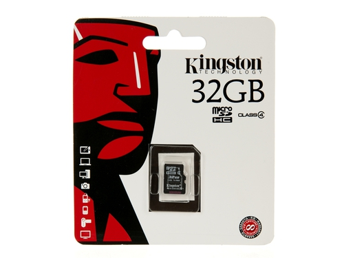 Karta pamięci Kingston Micro SD SDC4 Bez adaptera 32GB - SDC4/32GBSP
