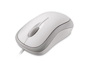 Mysz Microsoft Basic Optical Mouse, biała - 4YH-00008