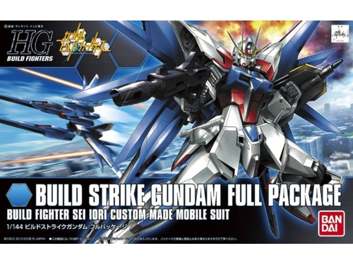 Figurka HGBF 1/144 BUILD STRIKE GUNDAM FLIGHT FULL PACK
