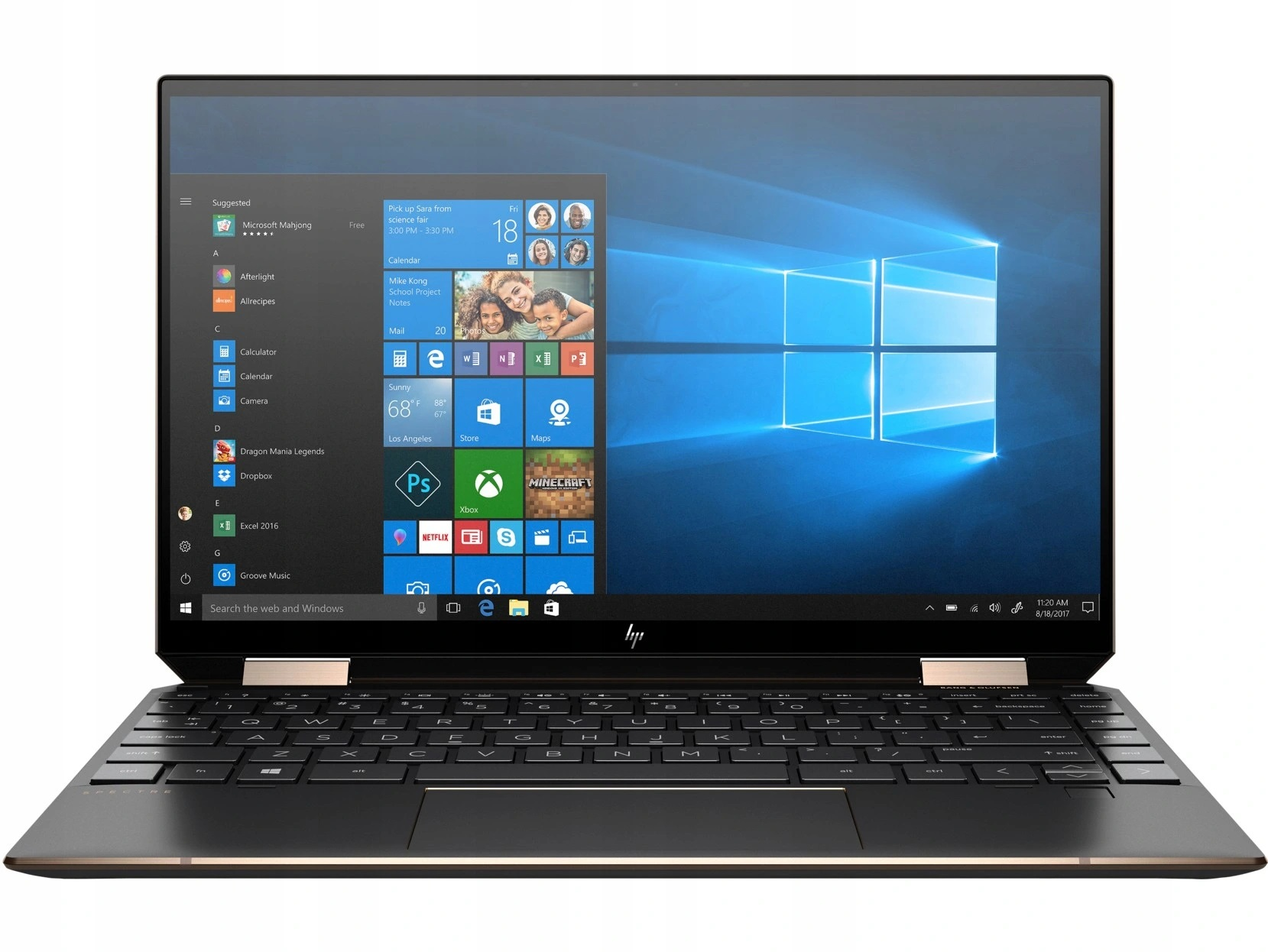 """#HP Spectre x360 Conv 13-aw0006nw i5-1035G4 13.3""""FHD Touch 8GB DDR4 SSD512GB PCIe INT Win10"""