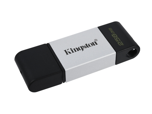 KINGSTON FLASH 256GB USB-C 3.2 Gen 1 DT80/256GB