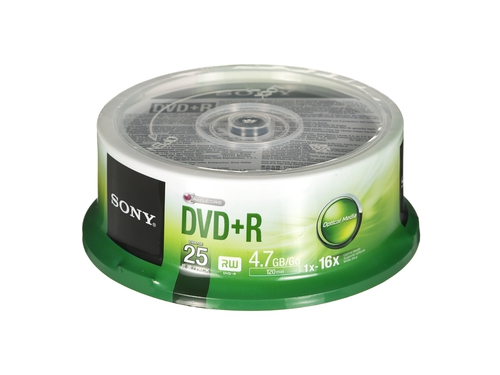 DVD+R Sony 4,7GB 25szt.