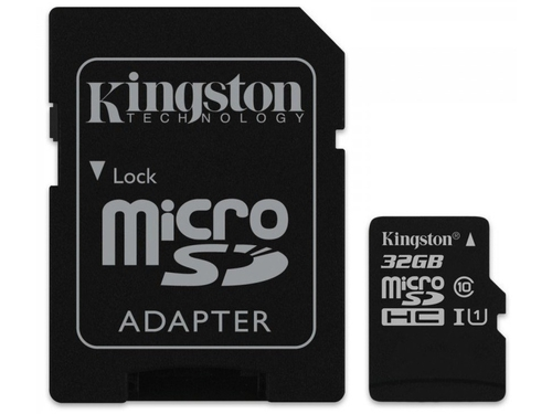 Karta pamięci z adapterem MicroSDXC Kingston Gold 32GB Class U3 SDCG/32GB