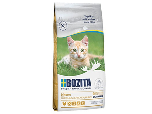 BOZITA - Kitten Grain free Chicken 0,4 kg