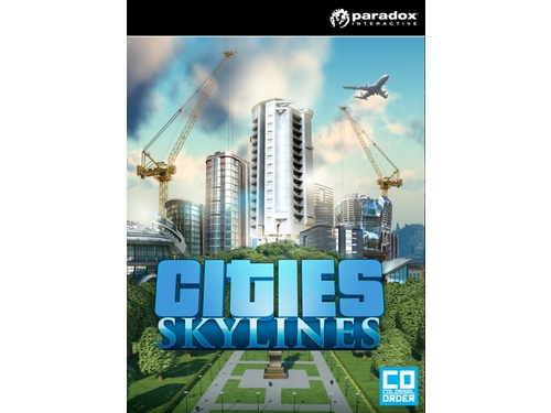 Gra PC Paradox Interactive wersja cyfrowa Cities: Skylines K00516
