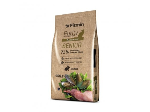 Fitmin cat purity senior 0,4kg