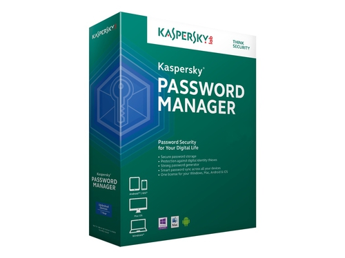Kaspersky Password Manager ESD 1 User 24M - KL1956PCADS