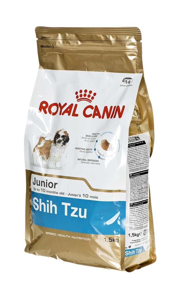 #Karma Royal Canin SHN Breed Shih Tzu Jun 1,5 kg