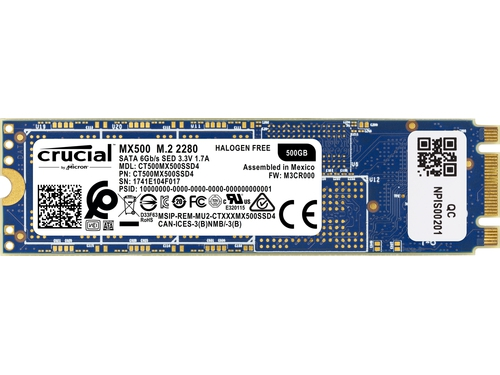 DYSK SSD CRUCIAL MX500 500GB M.2 - CT500MX500SSD4