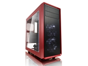 OBUDOWA FRACTAL DESIGN FOCUS G Window Red - FD-CA-FOCUS-RD-W
