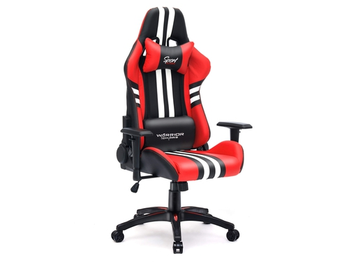 Actina GameON PBM i3-8350K/16/120+1T/1060/W10 [029] + Fotel Gamingowy Warrior Chairs Sport Extreme black/red