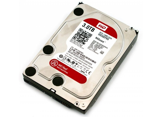 "Dysk WD Red WD30EFRX 3 TB Western Digital Red 3.5"" SATA III 64 MB"