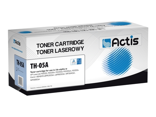 Actis toner HP CE505A LJ P2035/2055 NEW 100% TH-05A