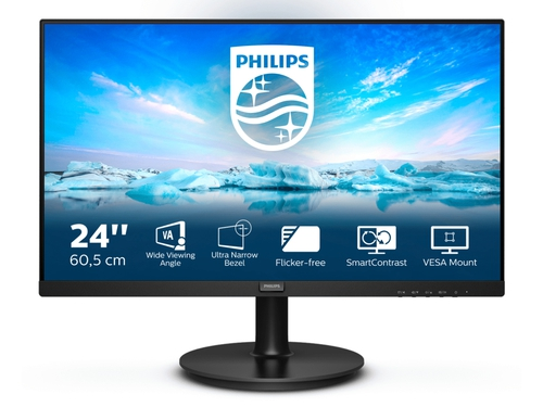 "MONITOR PHILIPS LED 24"" 241V8LA/00"