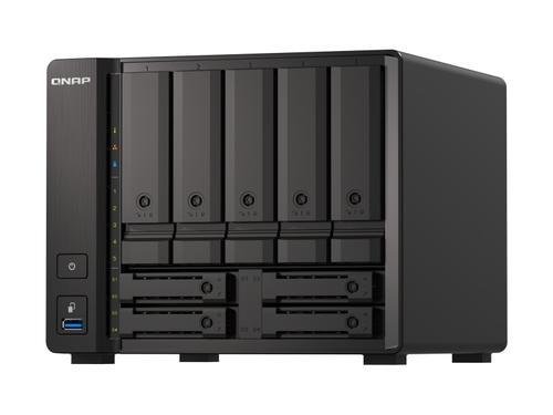 Qnap-TS-h973AX-8G tower 9bay AMD 8GB RAM