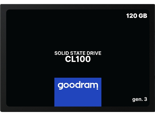 SSD GOODRAM CL100 Gen. 3 120GB SATA III 2,5 RETAIL - SSDPR-CL100-120-G3