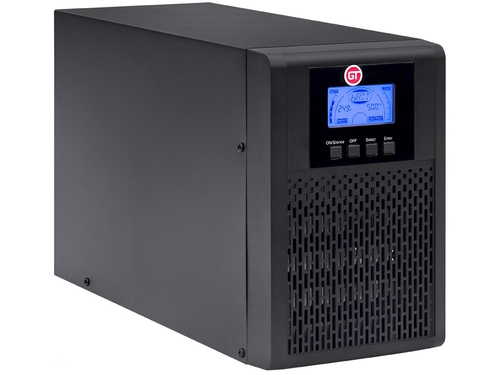 GT- UPS tower 1000VA/900W on-line 4xIEC 10A - GTS111kVAT