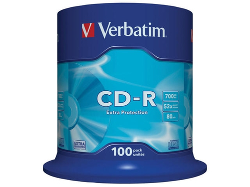 CD-R 700MB 52X EXTRA PROTECTION SP 100SZT - 43411