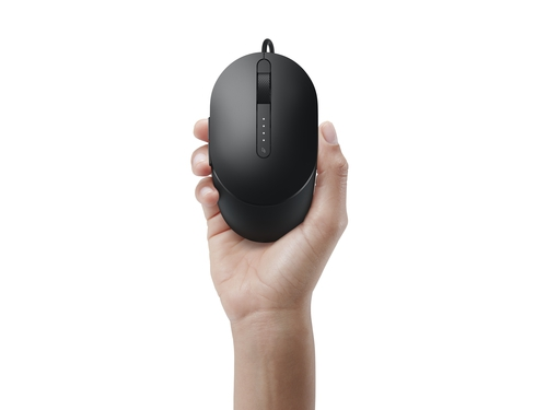 DELL Laser Wired Mouse MS3220 Black - 570-ABHN