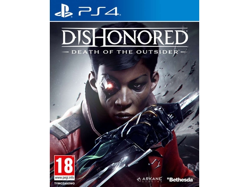 Gra PS4 Dishonored: Death of the Outsider