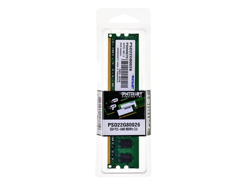 Patriot 2048MB 800MHz DDR2 Non-ECC CL6 DIMM - PSD22G80026