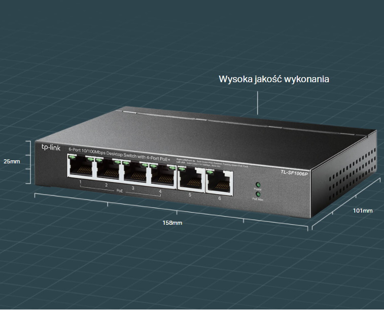 #Switch TP-LINK TL-SF1006P
