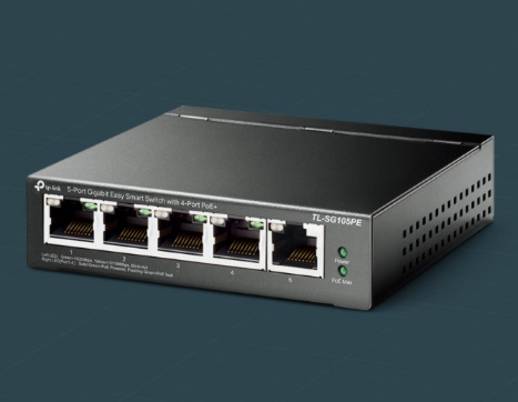 #Switch TP-LINK TL-SG105PE