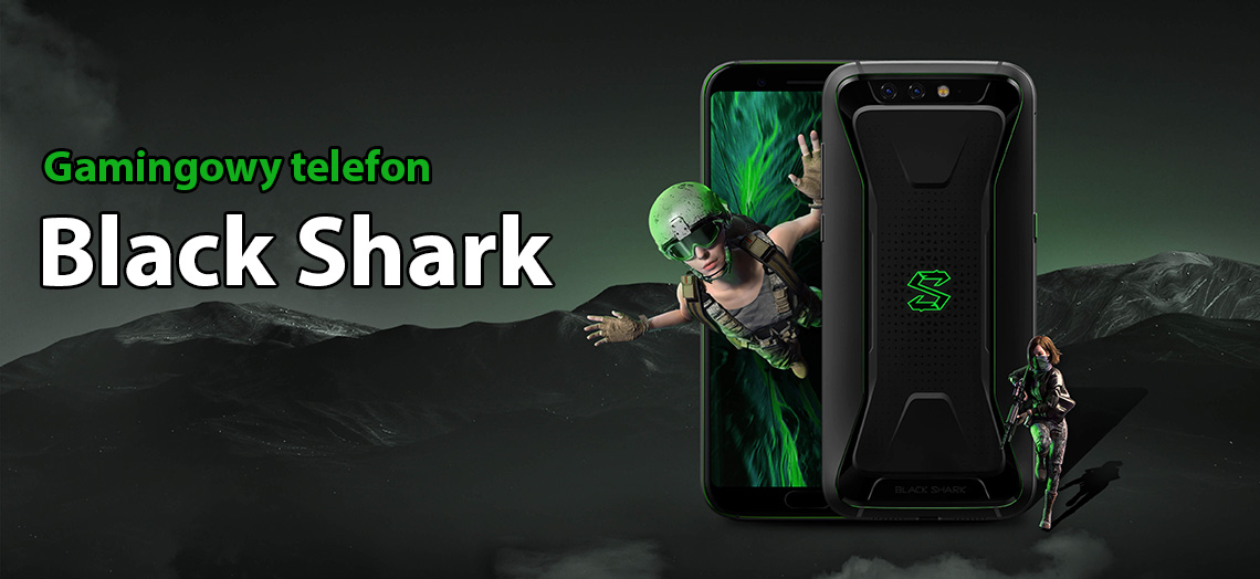 #Xiaomi Black Shark 128GB Black