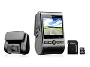 Wideorejestrator VIOFO A129 Duo + GOODRAM microSDHC 32GB class 10 UHS I + adapter