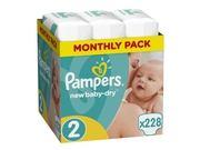 Pampers Pieluchy NBD Maxi SRP 3x76